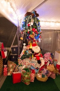 SP Casey Cares Tree PJs Wanda party