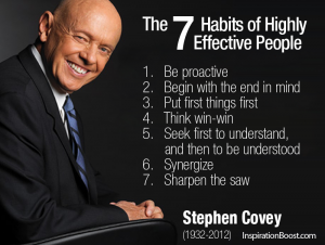 7 habits stephen covey